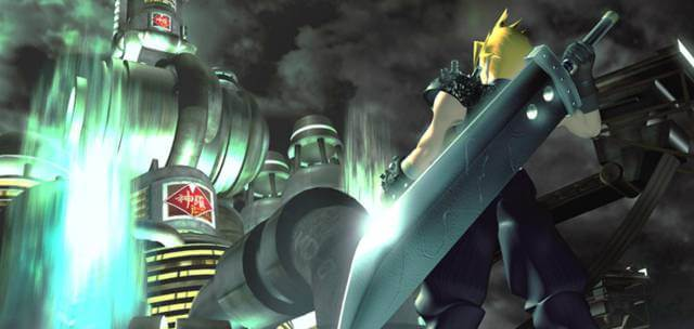 cloud frente a shinra final fantasy 7